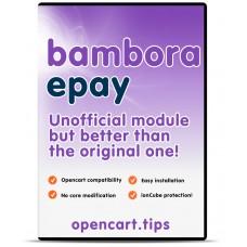 ePay Bambora OpenCart 3 DEMO
